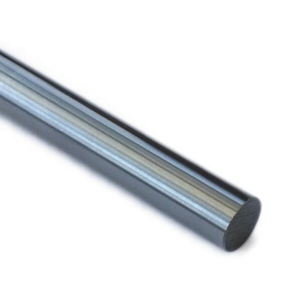 Präzisionswelle 12mm h6 geschliffen und gehärtet 450mm