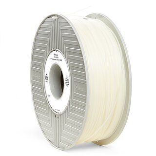 Filament PP Verbatim 1.75 mm transparent 500 g Ansicht Spule
