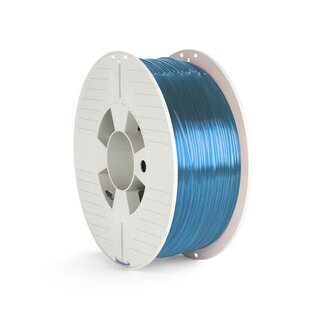 Verbatim PET-G Filament - 1.75 mm - Transparent Blau - 1 kg