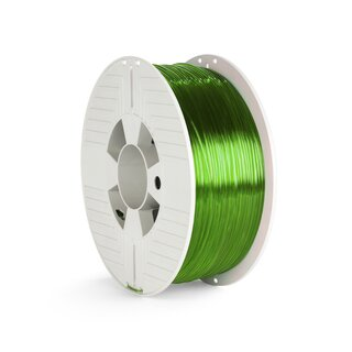 Verbatim PET-G Filament - 1.75 mm - Transparent Grün - 1 kg