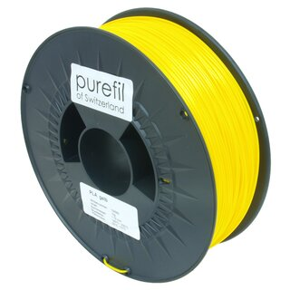 Filament PLA purefil of Switzerland 1.75 mm signalgelb 1...