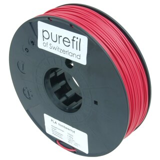Filament PLA purefil of Switzerland 1.75 mm himbeerrot...