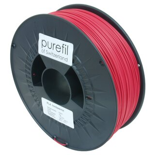 Filament PLA purefil of Switzerland 1.75 mm himbeerrot 1...