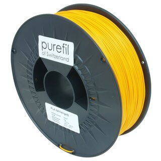 Filament PLA purefil of Switzerland 1.75 mm dahliengelb 1...