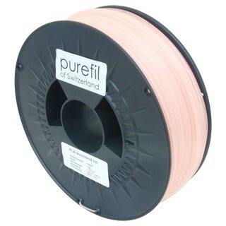 Filament PLA purefil of Switzerland 1.75 mm leuchtend rot...