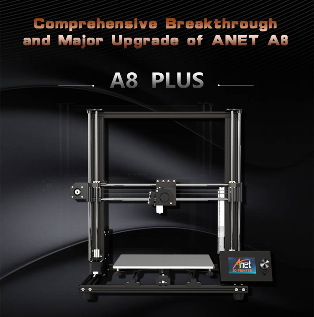 Anet A8 Plus 3D-Drucker Bausatz - 300x300x350mm - Produktvorstellung A8 Plus