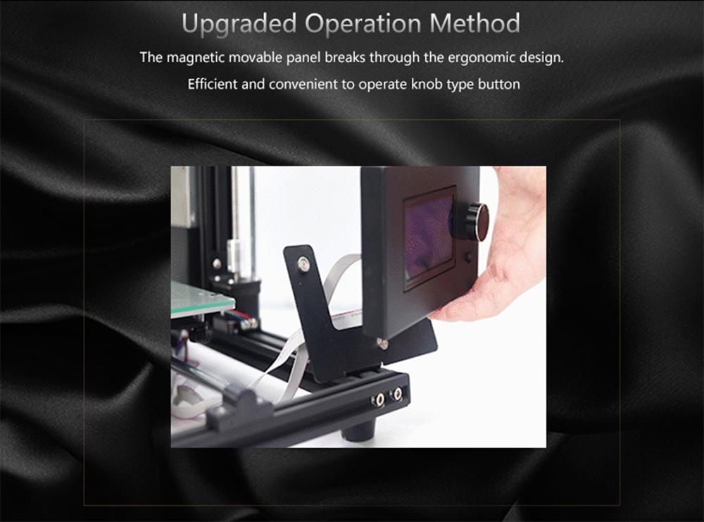 Anet A8 Plus 3D-Drucker Bausatz - 300x300x350mm - Verbessertes Display
