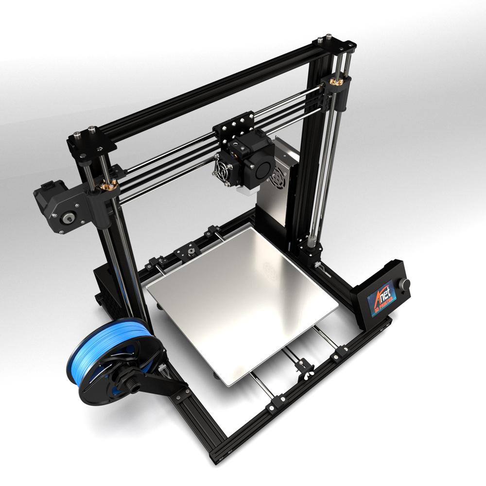 Anet A8 Plus 3D-Drucker Bausatz - 300x300x350mm - A8 Plus Komplettansicht