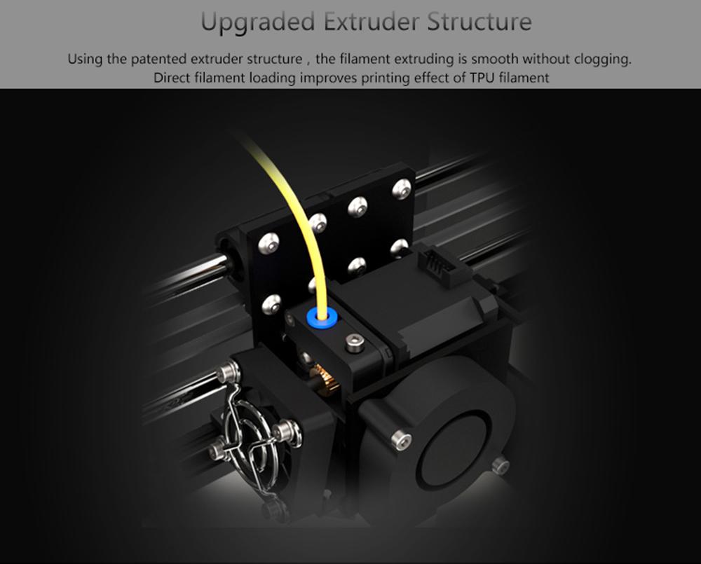 Anet A8 Plus 3D-Drucker Bausatz - 300x300x350mm - Verbesserte Extruder Struktur
