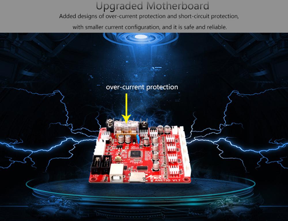 Anet A8 Plus 3D-Drucker Bausatz - 300x300x350mm - Mainboard Upgrade