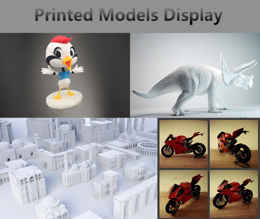 Anet A8 Plus 3D-Drucker Bausatz - 300x300x350mm - Verschiedene Druckmodelle