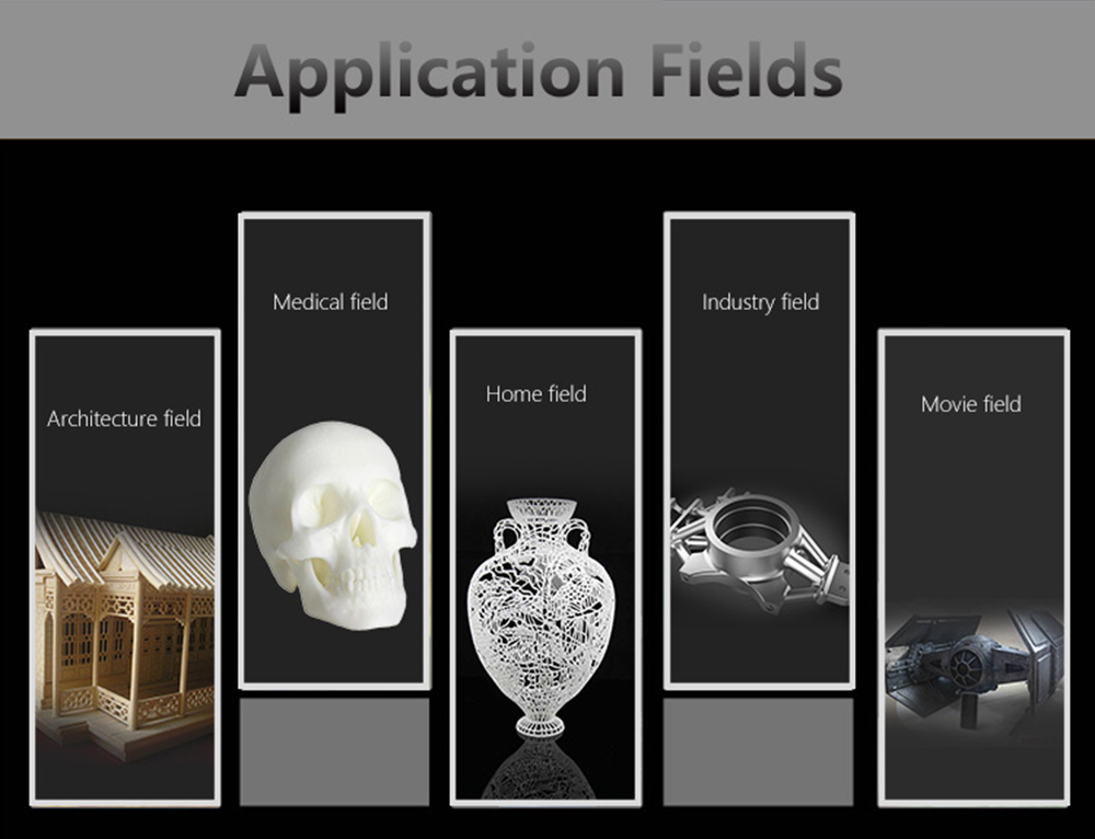 Anet A8 Plus 3D-Drucker Bausatz - 300x300x350mm - Anwendungsbeispiele
