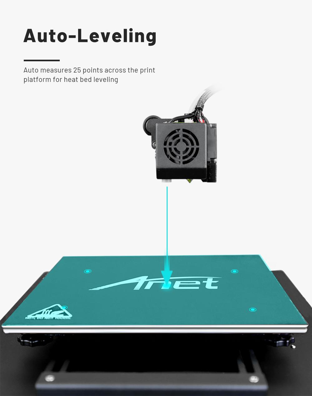 Anet ET4 Pro 3D-Drucker Bausatz - 220x220x250mm - Automatische Nivellierung