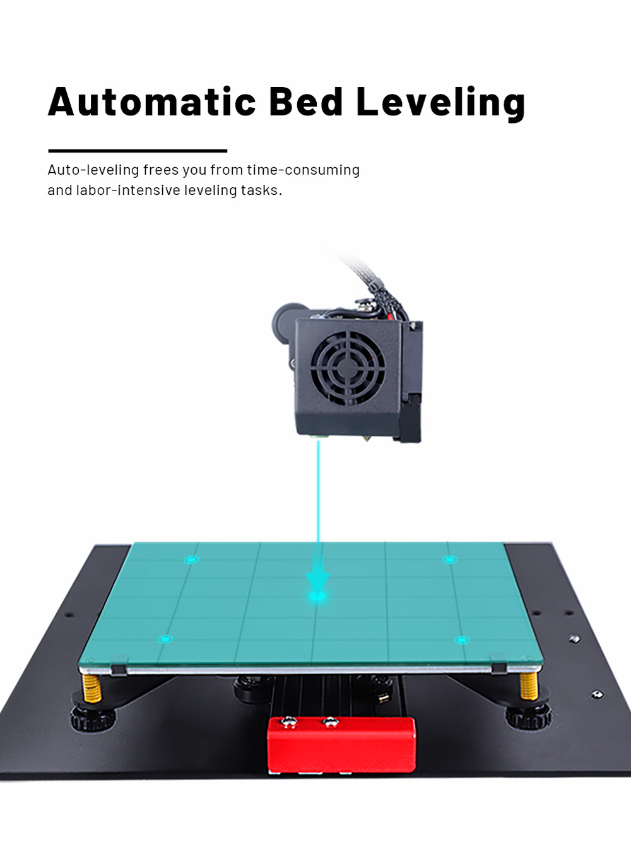 Anet ET4 3D-Drucker Bausatz - 220x220x250mm - Automatische Nivellierung