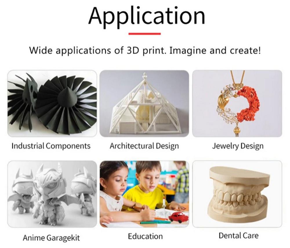 Anet ET4 3D-Drucker Bausatz - 220x220x250mm - Anwendungsbeispiele