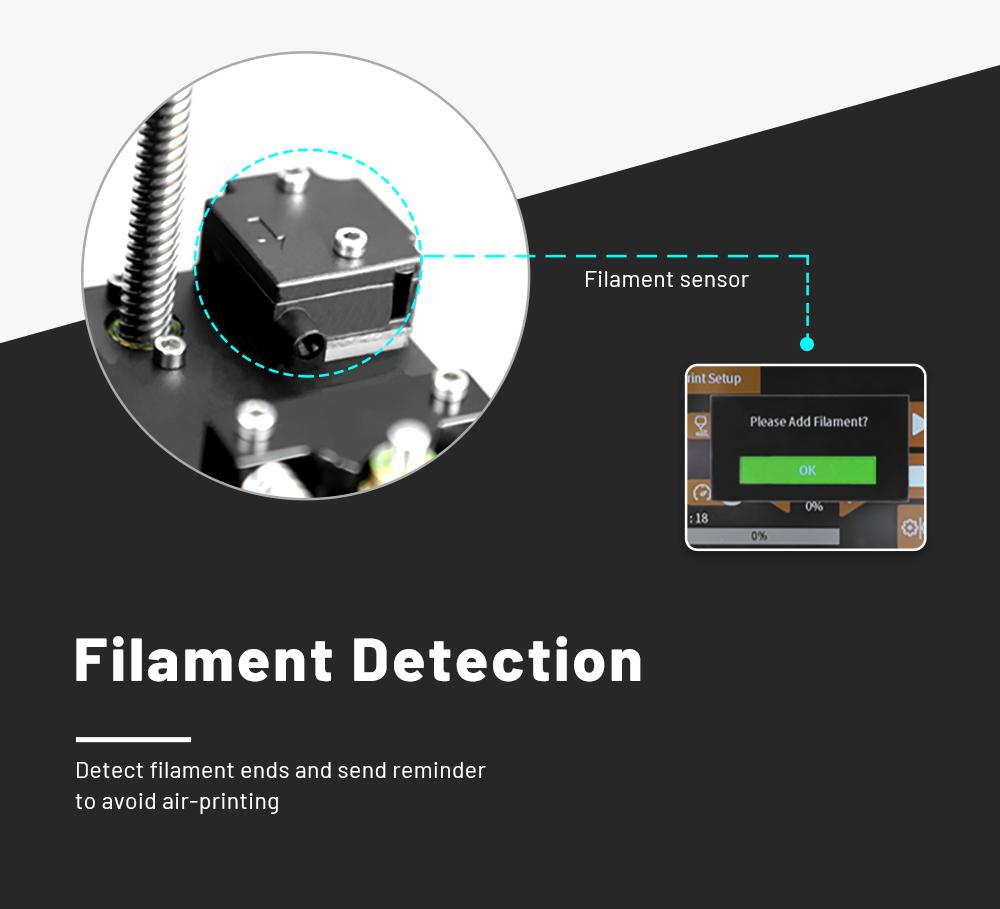 Anet ET5 Pro 3D-Drucker Bausatz - 300x300x400mm - Filament Erkennung