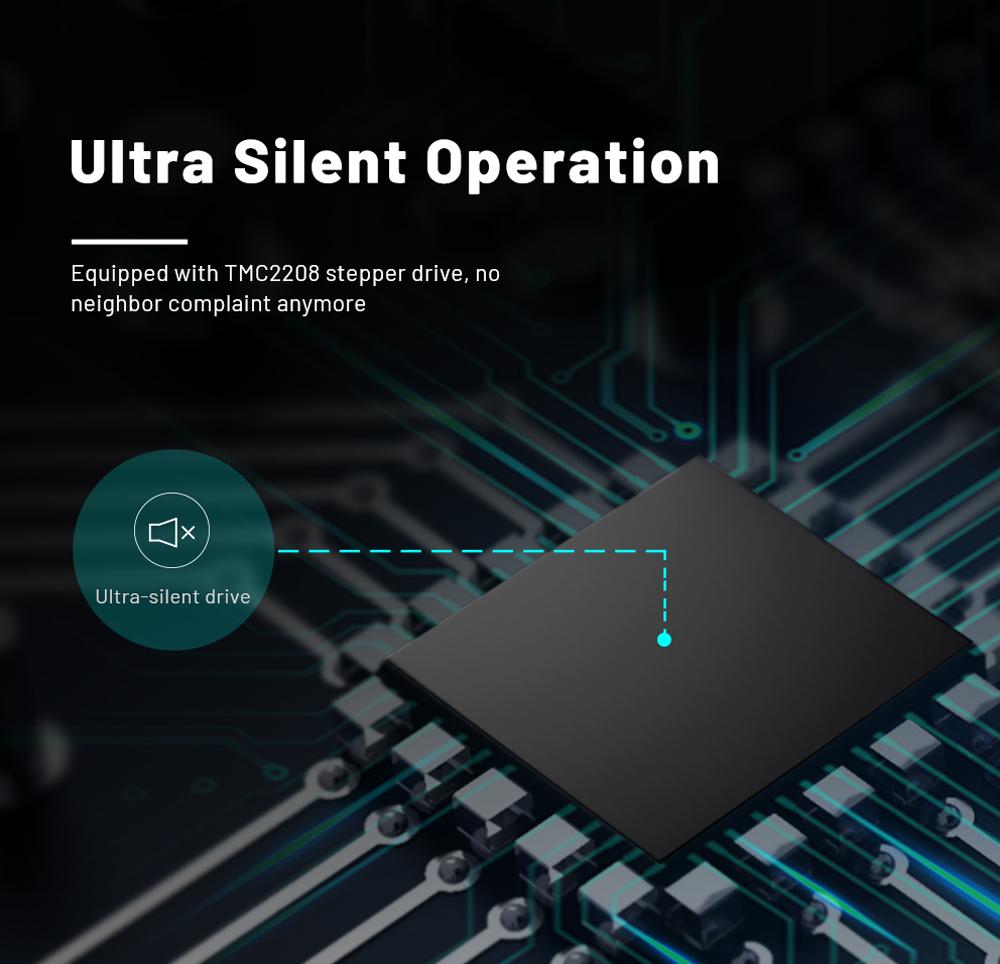 Anet ET5 Pro 3D-Drucker Bausatz - 300x300x400mm - Ultra leise durch TMC 2208 Schrittmotortreiber