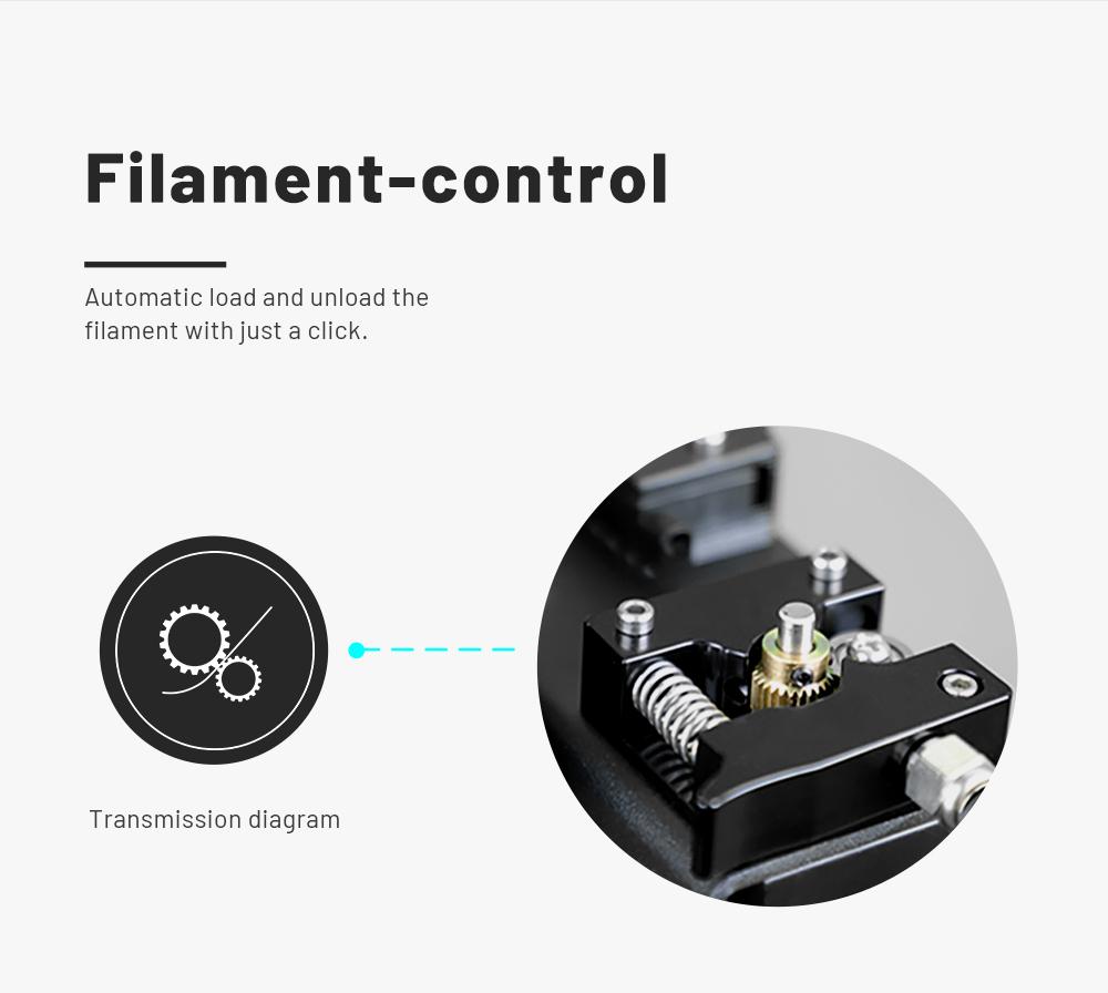 Anet ET5 Pro 3D-Drucker Bausatz - 300x300x400mm - Filament Kontrolle