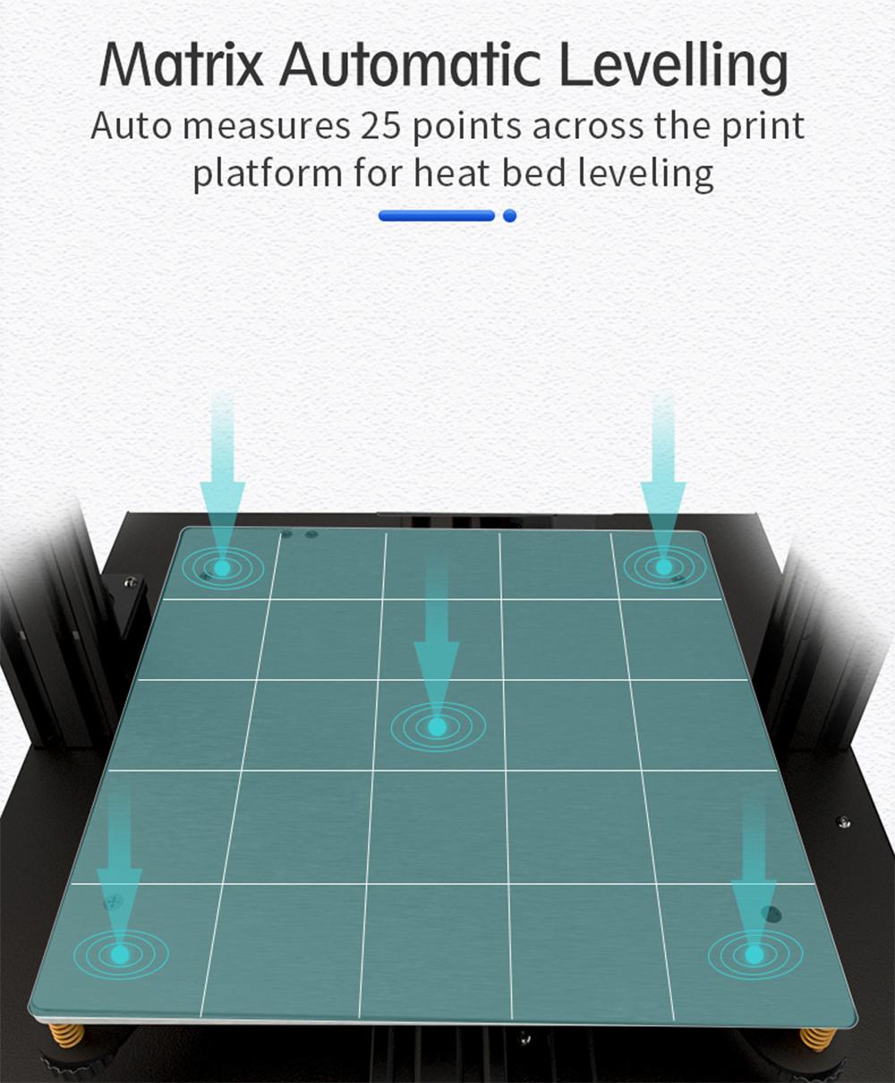 Anet ET5 3D-Drucker Bausatz - 300x300x400mm - Automatische Nivellierung
