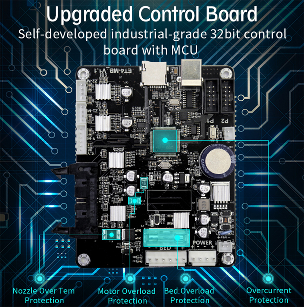 Anet ET5 3D-Drucker Bausatz - 300x300x400mm - 32 Bit Mainboard