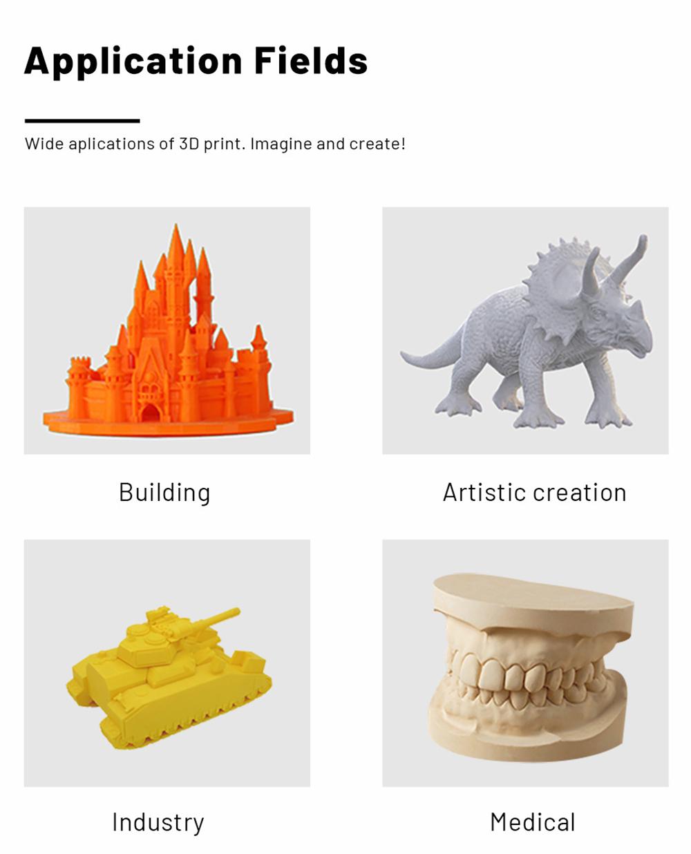 Anet ET5 3D-Drucker Bausatz - 300x300x400mm - Anwendungsbeispiele