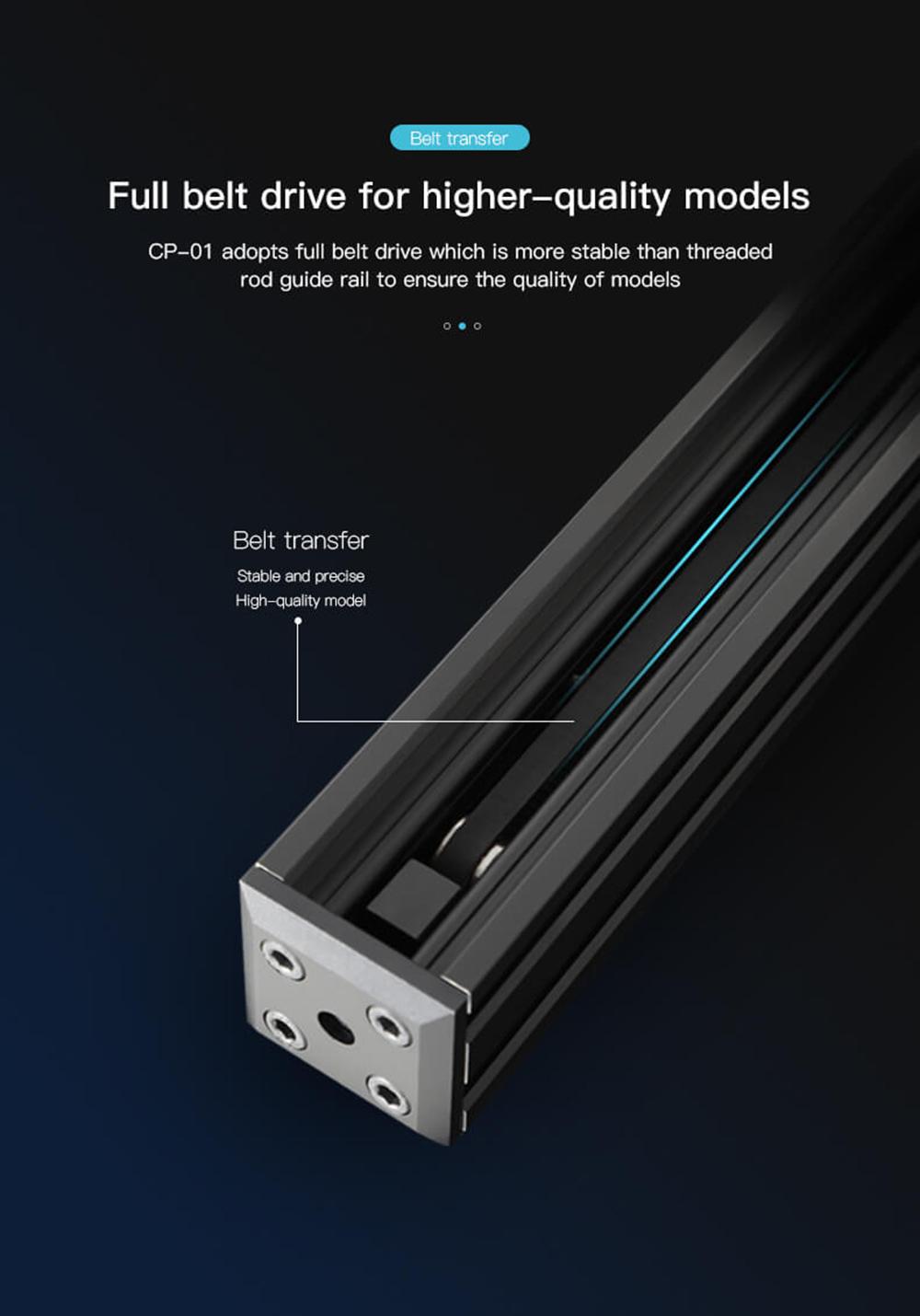Creality3D CP-01 Multitool 3D-Drucker Bausatz - 200x200x200mm - Zahnriemen Antrieb für höhere Präzision
