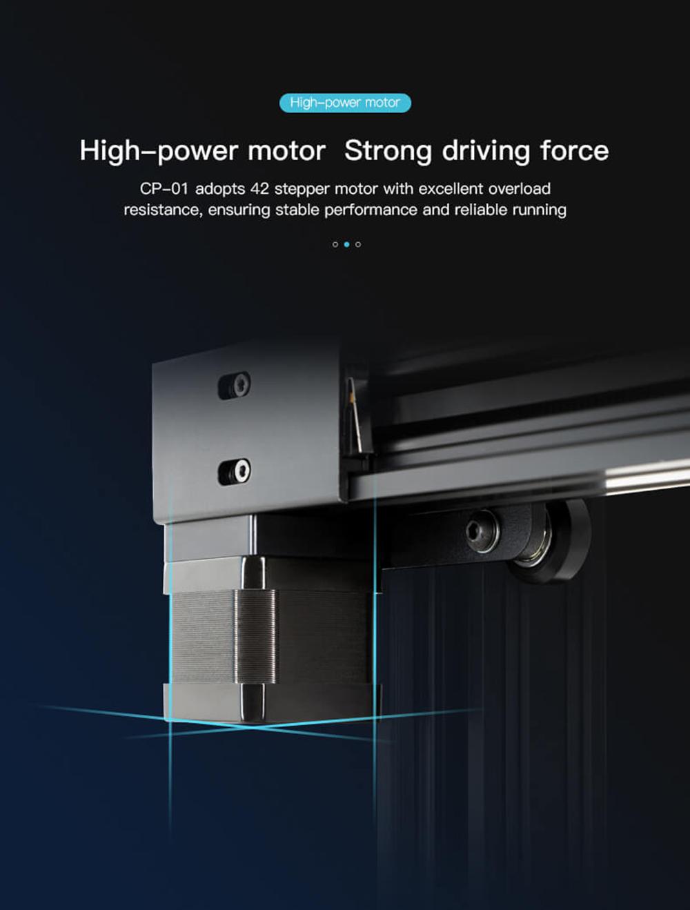 Creality3D CP-01 Multitool 3D-Drucker Bausatz - 200x200x200mm - Hochleistungs-Schrittmotoren