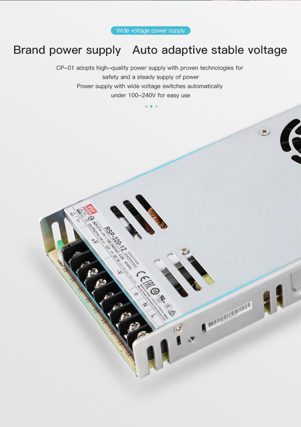 Creality3D CP-01 Multitool 3D-Drucker Bausatz - 200x200x200mm - Hochwertiges Marken-Netzteil