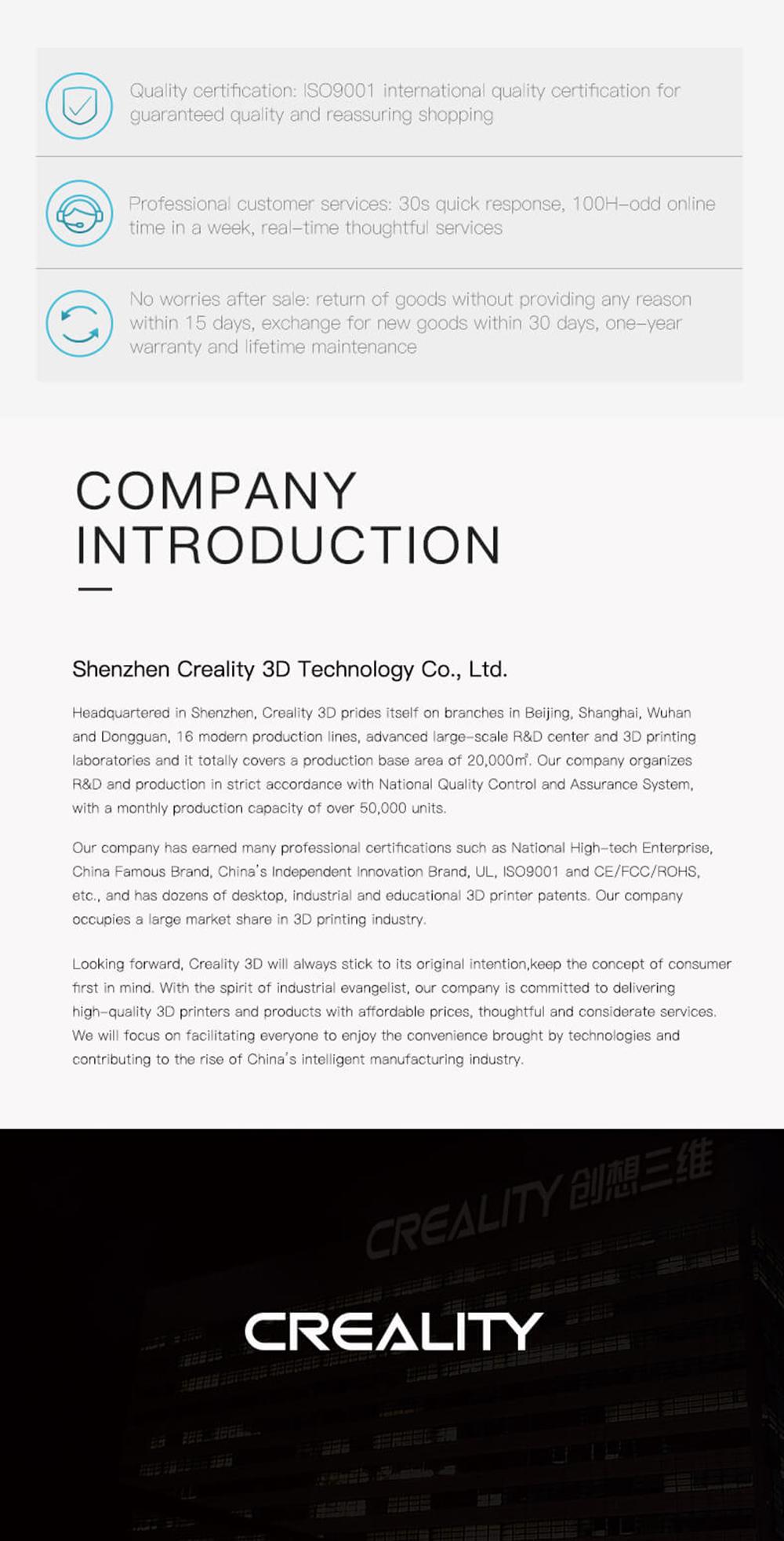 Creality3D CP-01 Multitool 3D-Drucker Bausatz - 200x200x200mm - Firmenvorstellung