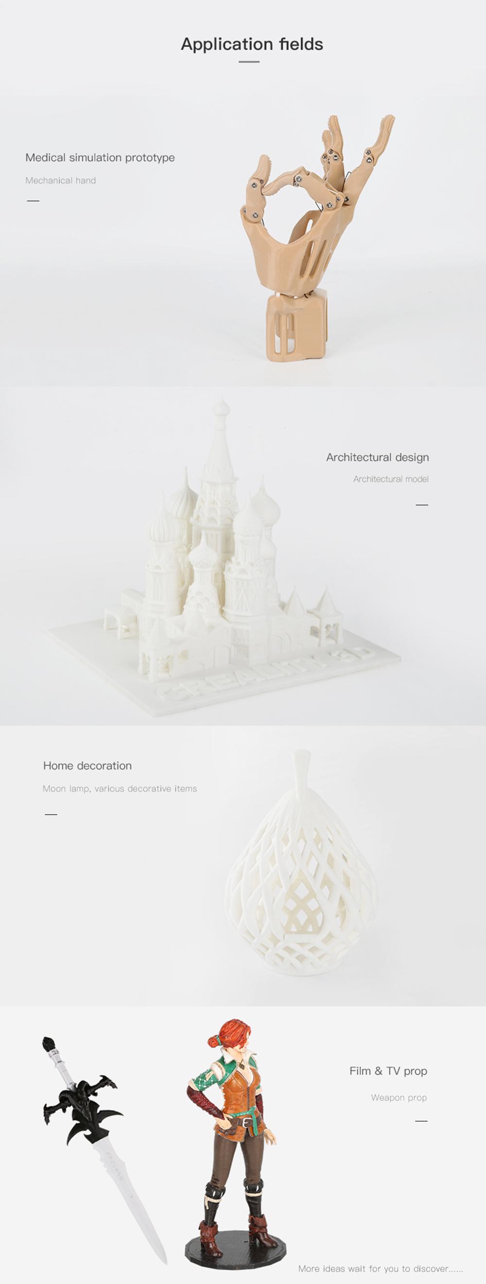 Creality3D CR-10 Max 3D-Drucker Bausatz - 450x450x470mm - Anwendungsbeispiele