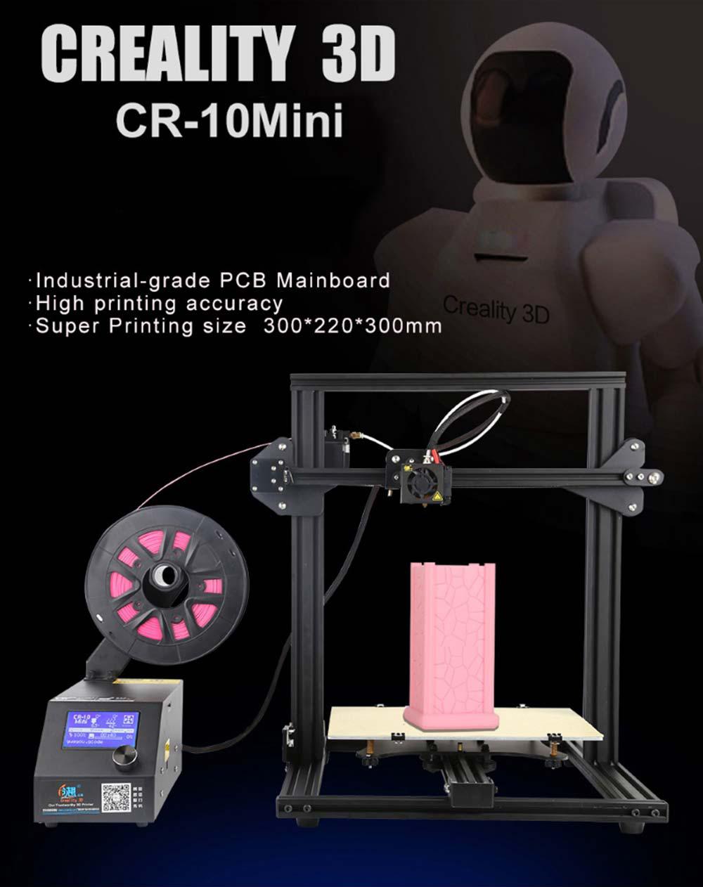 Creality3D CR-10 Mini 3D-Drucker Bausatz - 300x220x300mm - Produktvorstellung