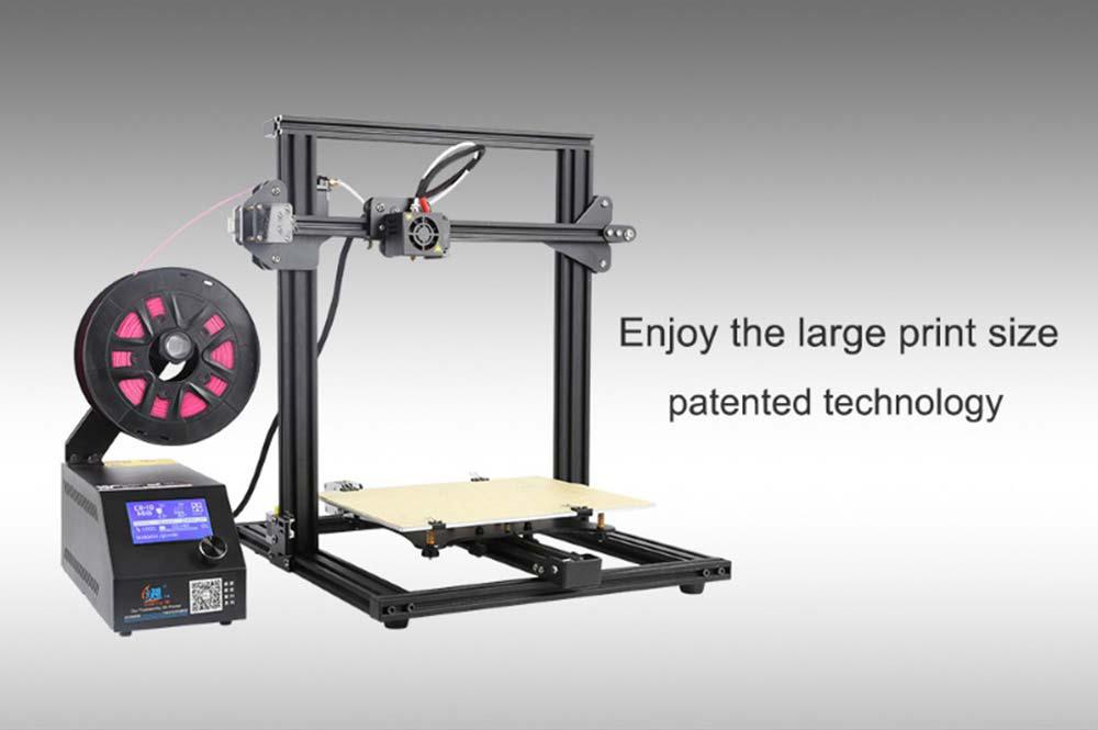 Creality3D CR-10 Mini 3D-Drucker Bausatz - 300x220x300mm - Großer Bauraum