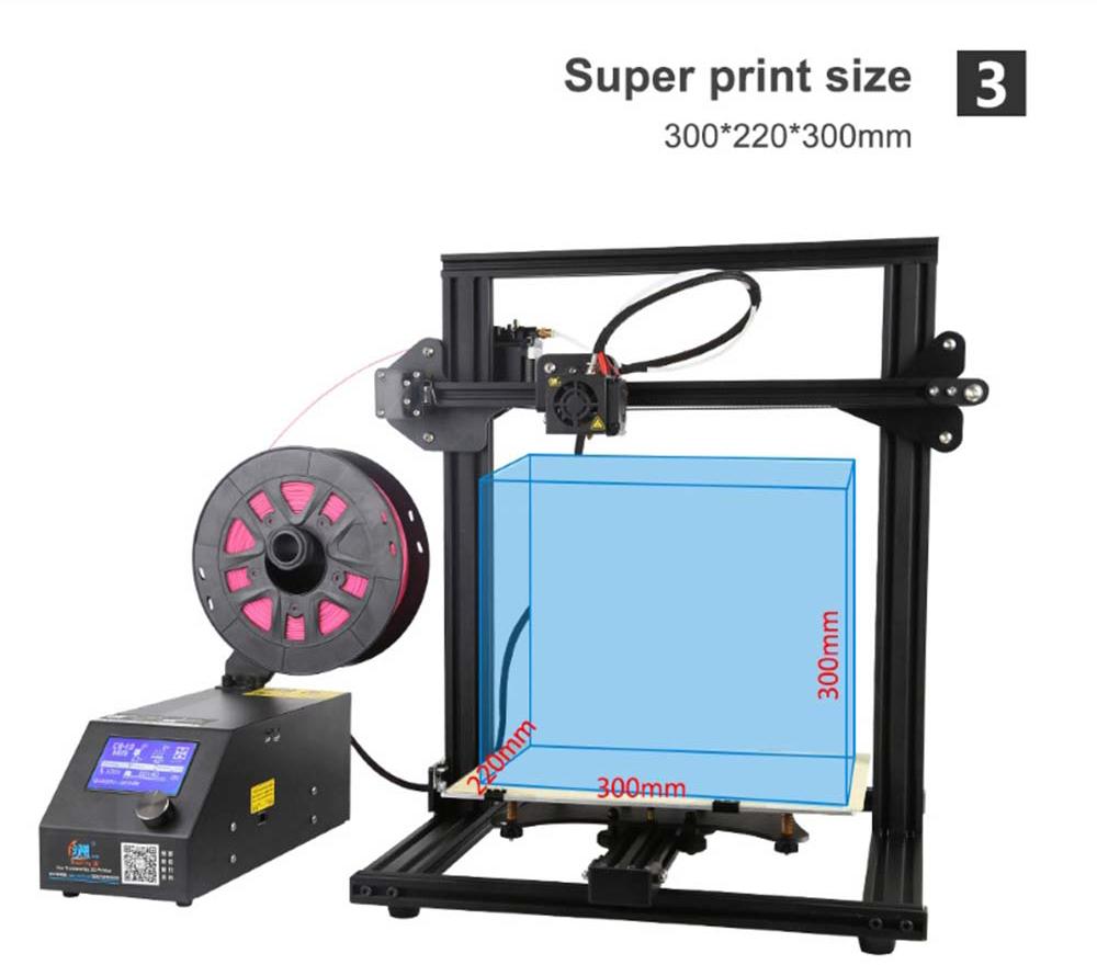 Creality3D CR-10 Mini 3D-Drucker Bausatz - 300x220x300mm - Super Bauraumgröße