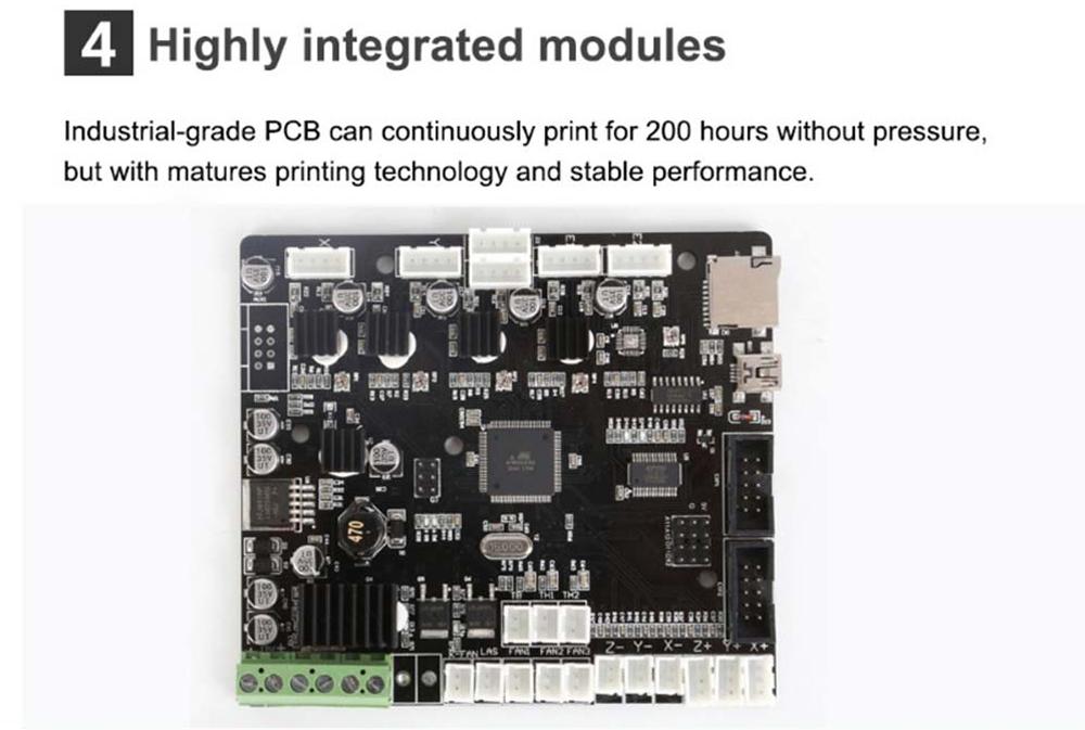 Creality3D CR-10 Mini 3D-Drucker Bausatz - 300x220x300mm - Industrie PCB Steuerplatine