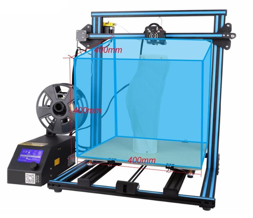 Creality3D CR-10-S4 3D-Drucker Bausatz - 400x400x400mm - Sehr großer Bauraum
