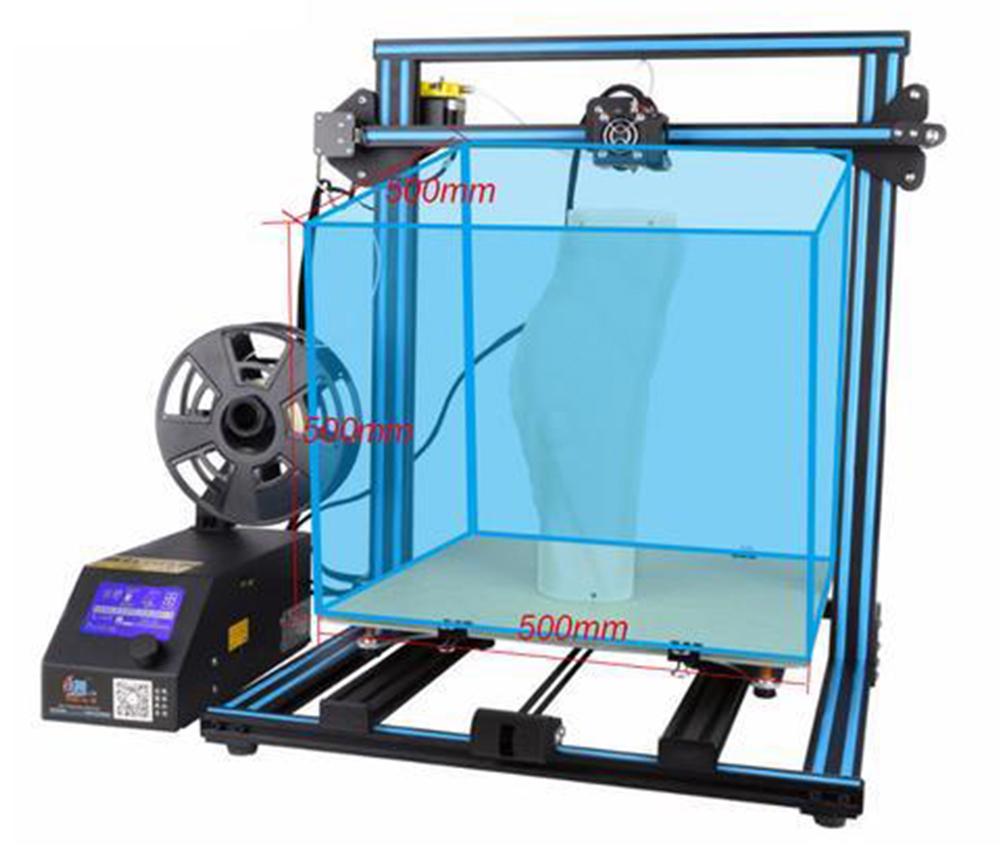 Creality3D CR-10-S5 3D-Drucker Bausatz - 500x500x500mm - Extrem großer Bauraum