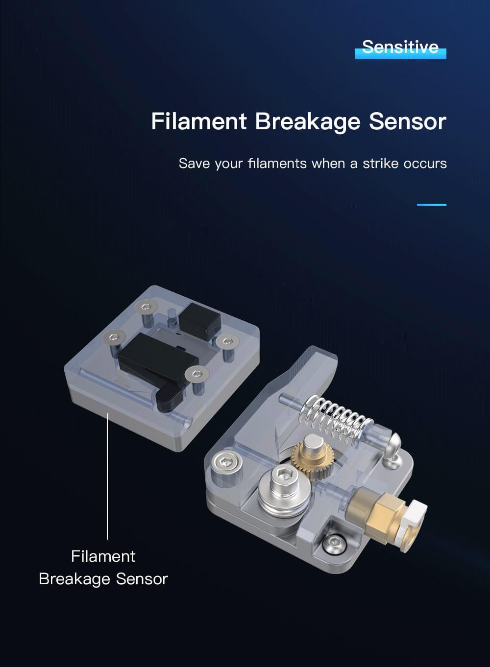 Creality CR-10 V2 3D-Drucker Bausatz - 300x300x400mm - Filamentbruch-Sensor