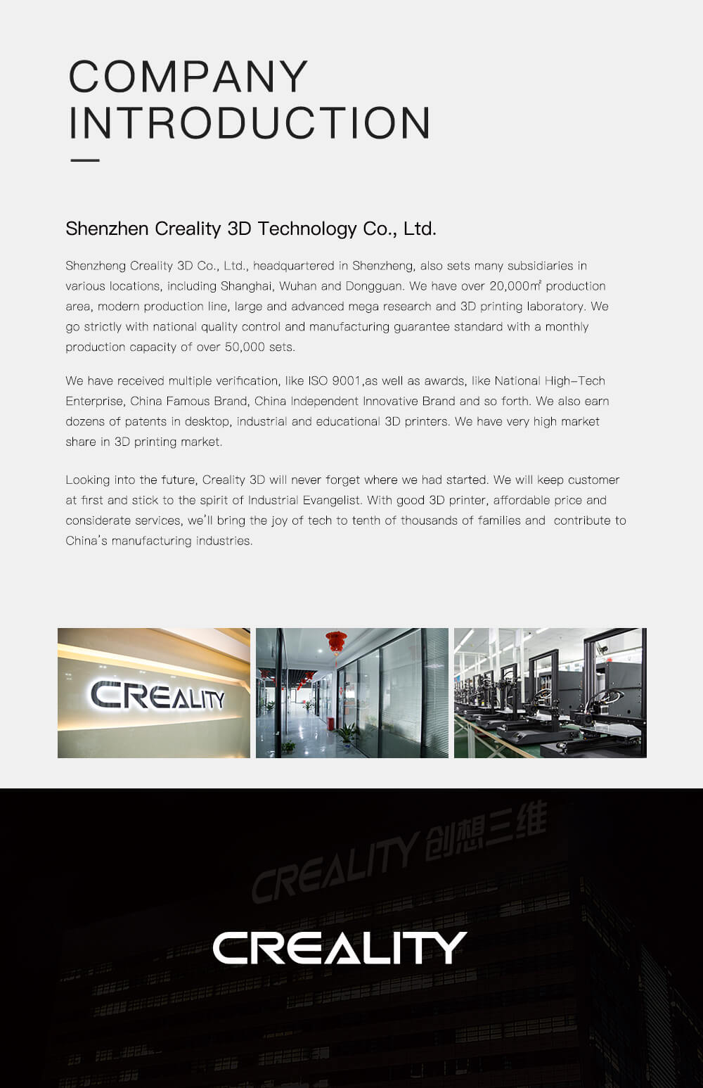 Creality CR-10 V2 3D-Drucker Bausatz - 300x300x400mm - Firmenvorstellung