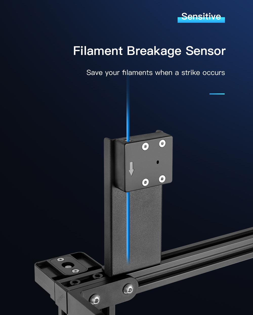 Creality3D CR-10 V3 3D-Drucker Bausatz - 300x300x400mm - Filamentbruch-Sensor