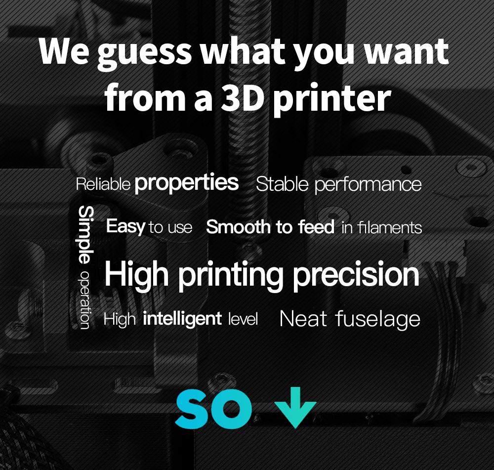 Creality3D CR-10S Pro V2 3D-Drucker Bausatz - 300x300x400mm - Anforderungen an einen 3D-Drucker
