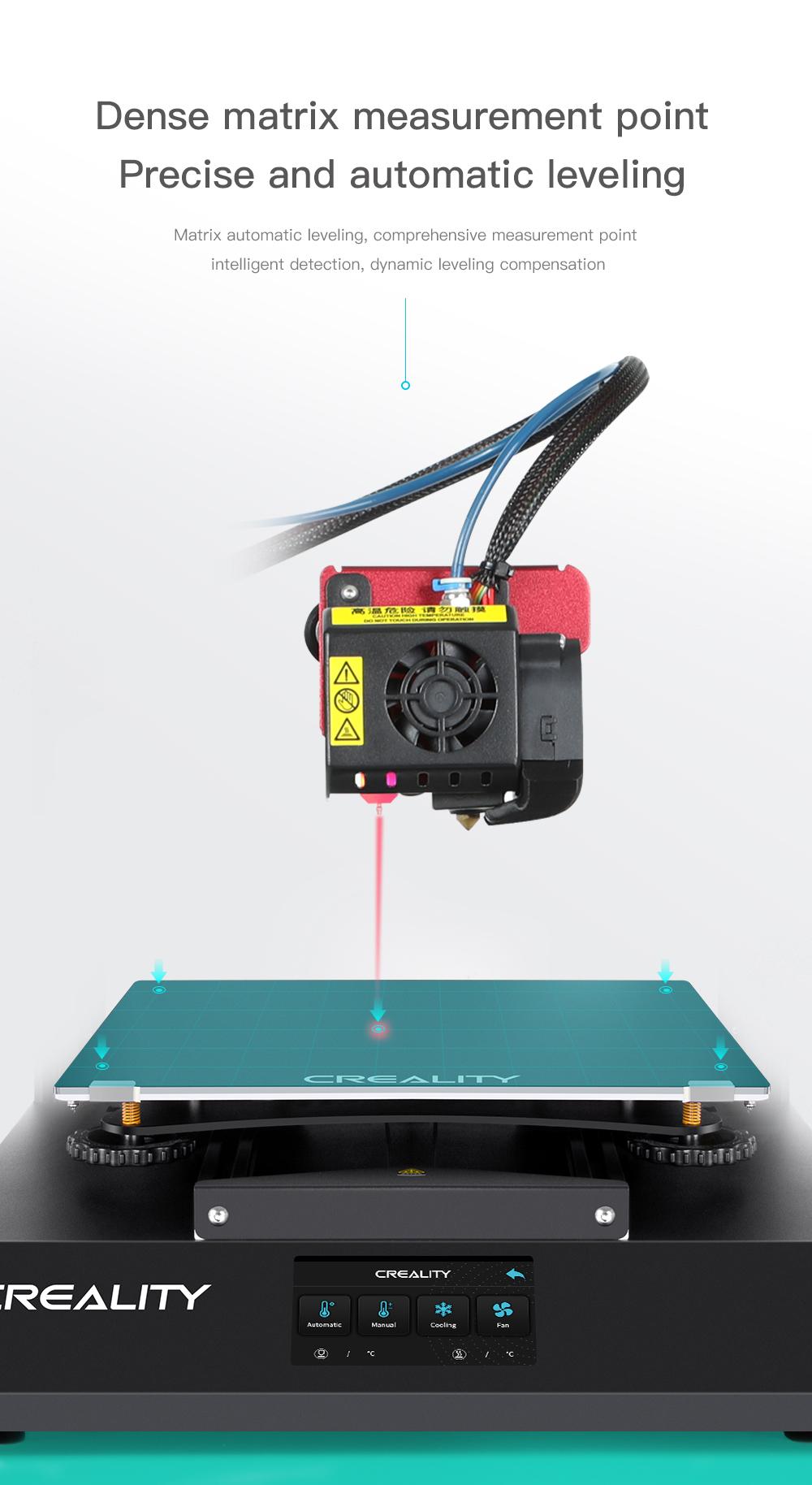Creality3D CR-10S Pro V2 3D-Drucker Bausatz - 300x300x400mm - Automatisches Nivellieren