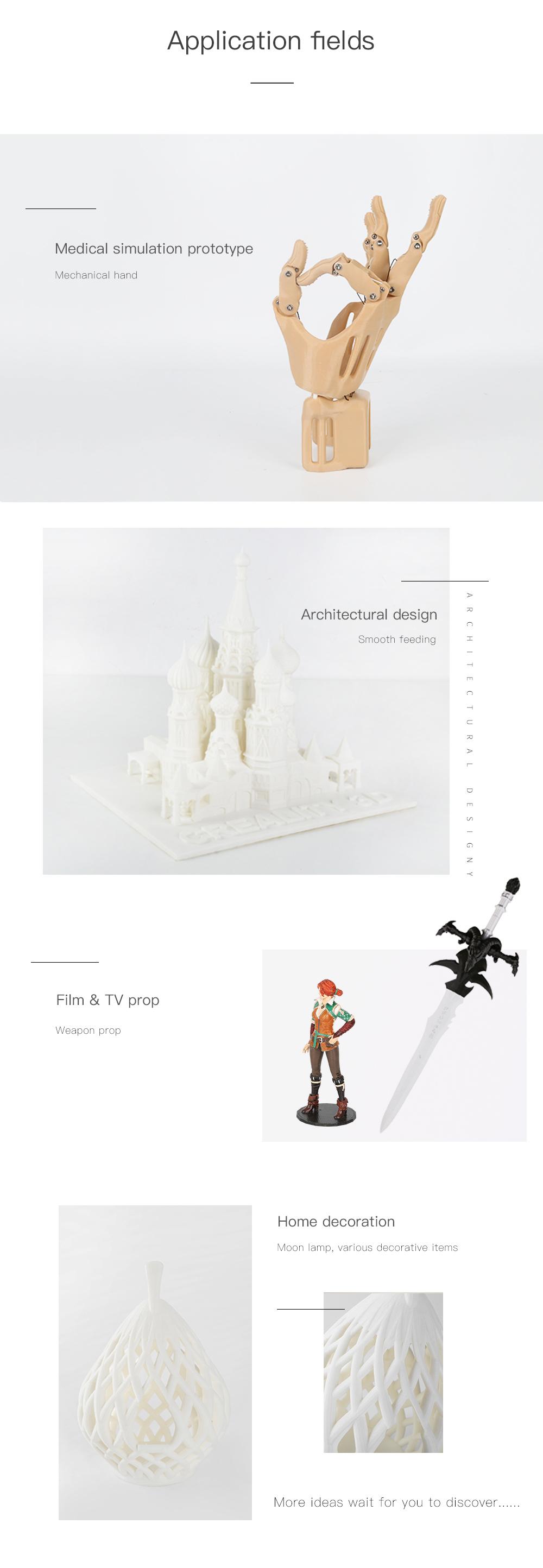 Creality3D CR-10S Pro V2 3D-Drucker Bausatz - 300x300x400mm - Anwendungsbeispiele