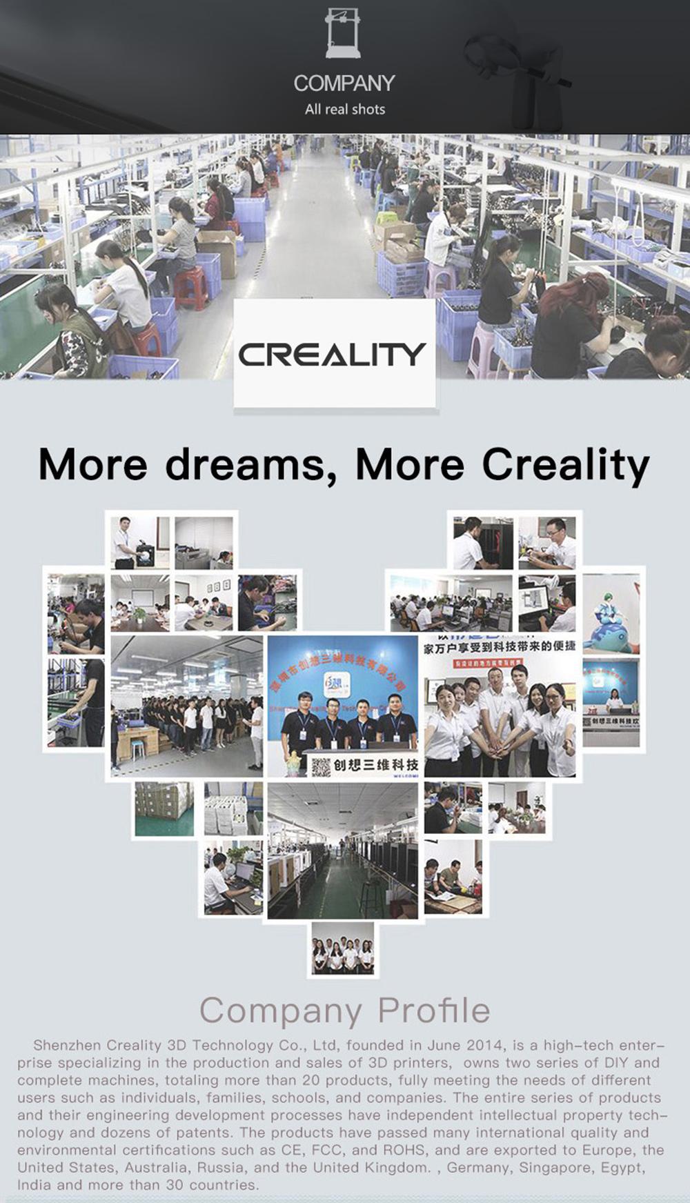 Creality3D CR-10S Pro 3D-Drucker Bausatz - 300x300x400mm - Firmenvorstellung