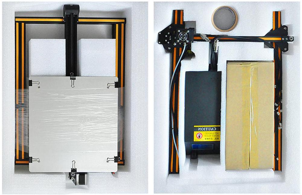 Creality3D CR-10S 3D-Drucker Bausatz - 300x300x400mm - 3D-Drucker Bauteile verpackt