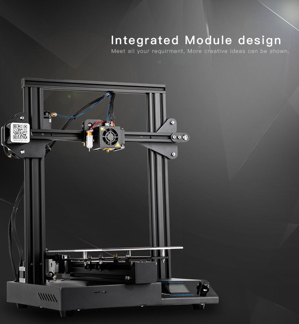 Creality3D CR-20 Pro 3D-Drucker Bausatz - 220x220x250mm - Modulare Bauweise