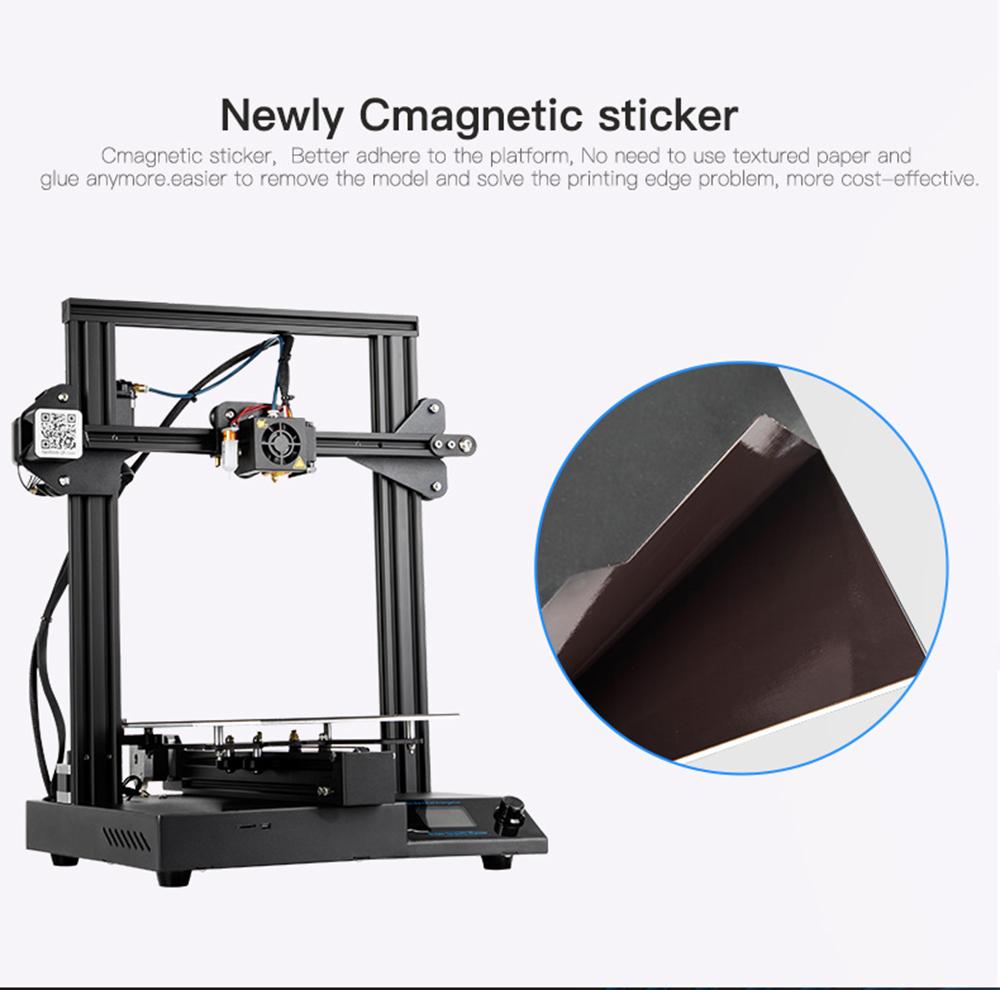 Creality3D CR-20 Pro 3D-Drucker Bausatz - 220x220x250mm - Cmagnetic Druckplattform