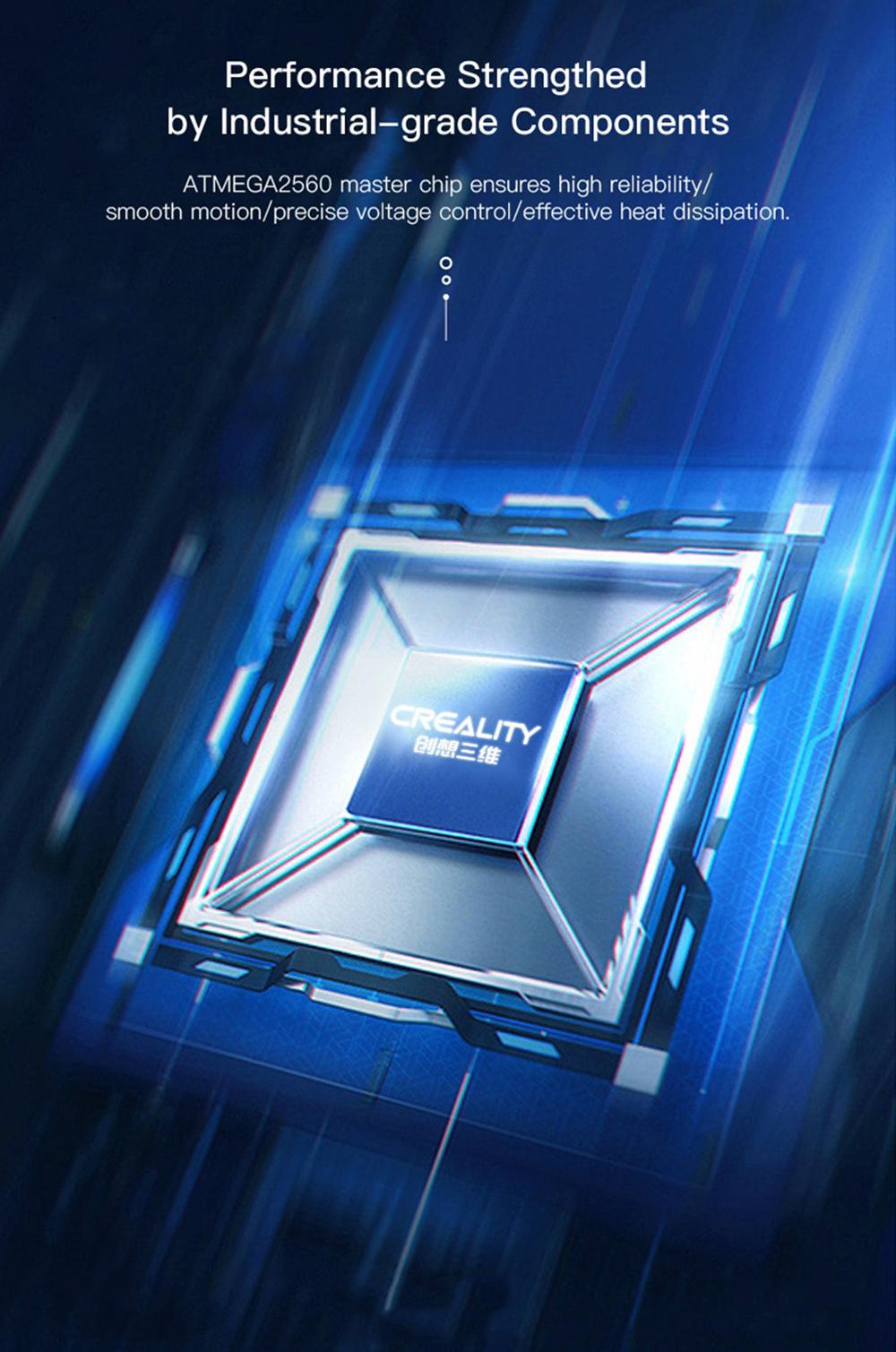 Creality3D CR-5 Pro 3D-Drucker - 300x225x380mm - ATMEGA2560 Chip auf Industrieniveau