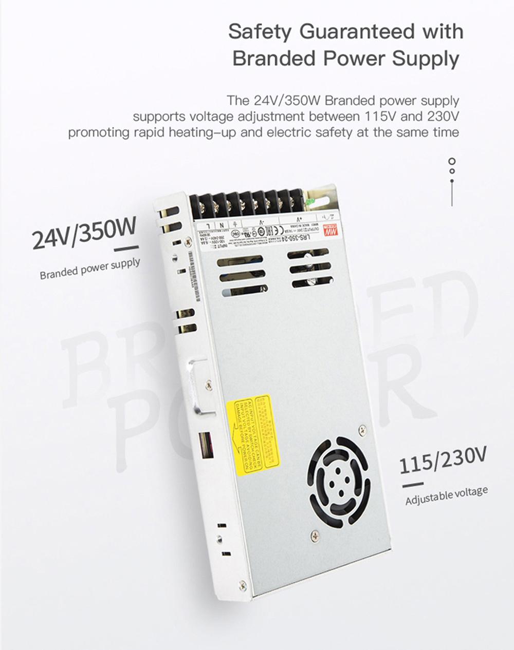 Creality3D CR-5 Pro 3D-Drucker - 300x225x380mm - Stabiles 350W Marken-Netzteil
