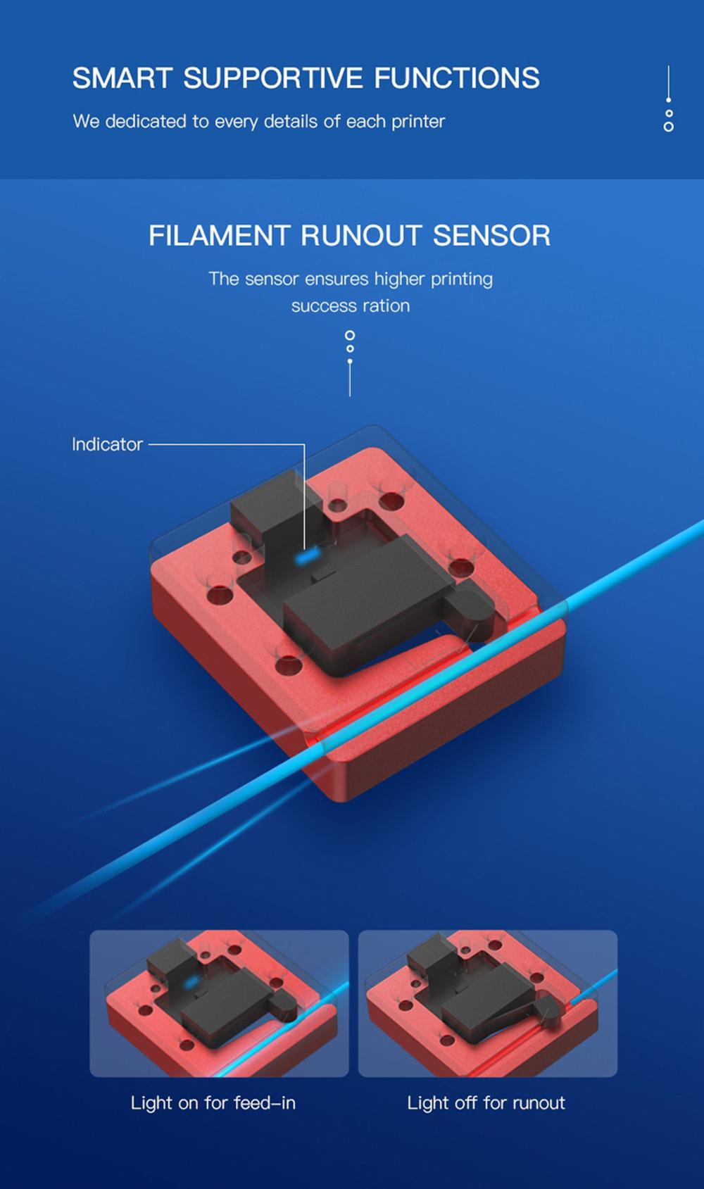 Creality3D CR-5 Pro 3D-Drucker - 300x225x380mm - Filamentbruch-Sensor
