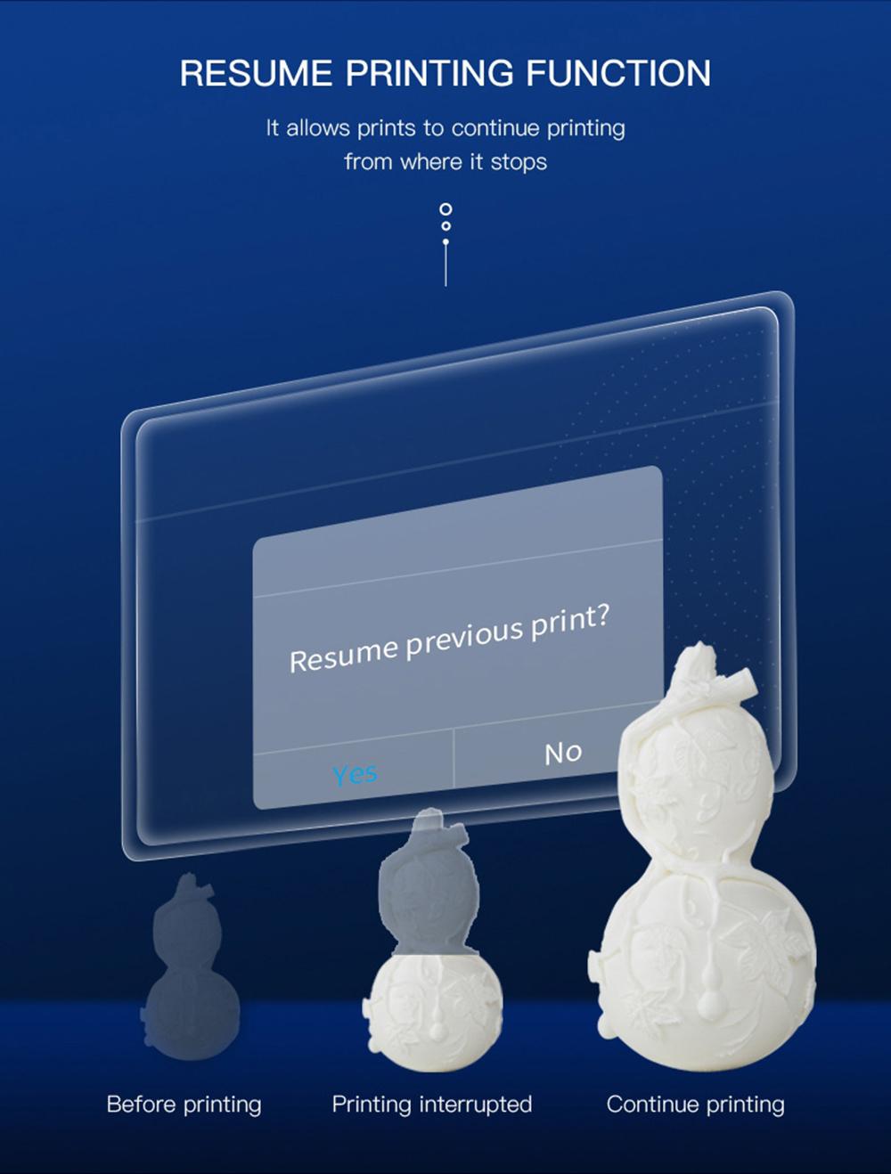 Creality3D CR-5 Pro 3D-Drucker - 300x225x380mm - Resume Print Funktion